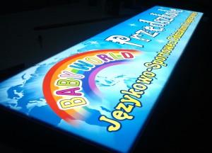 Wydruk UV - bok twarde PCW